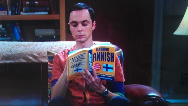 Learning Finnish: Sheldon Cooper